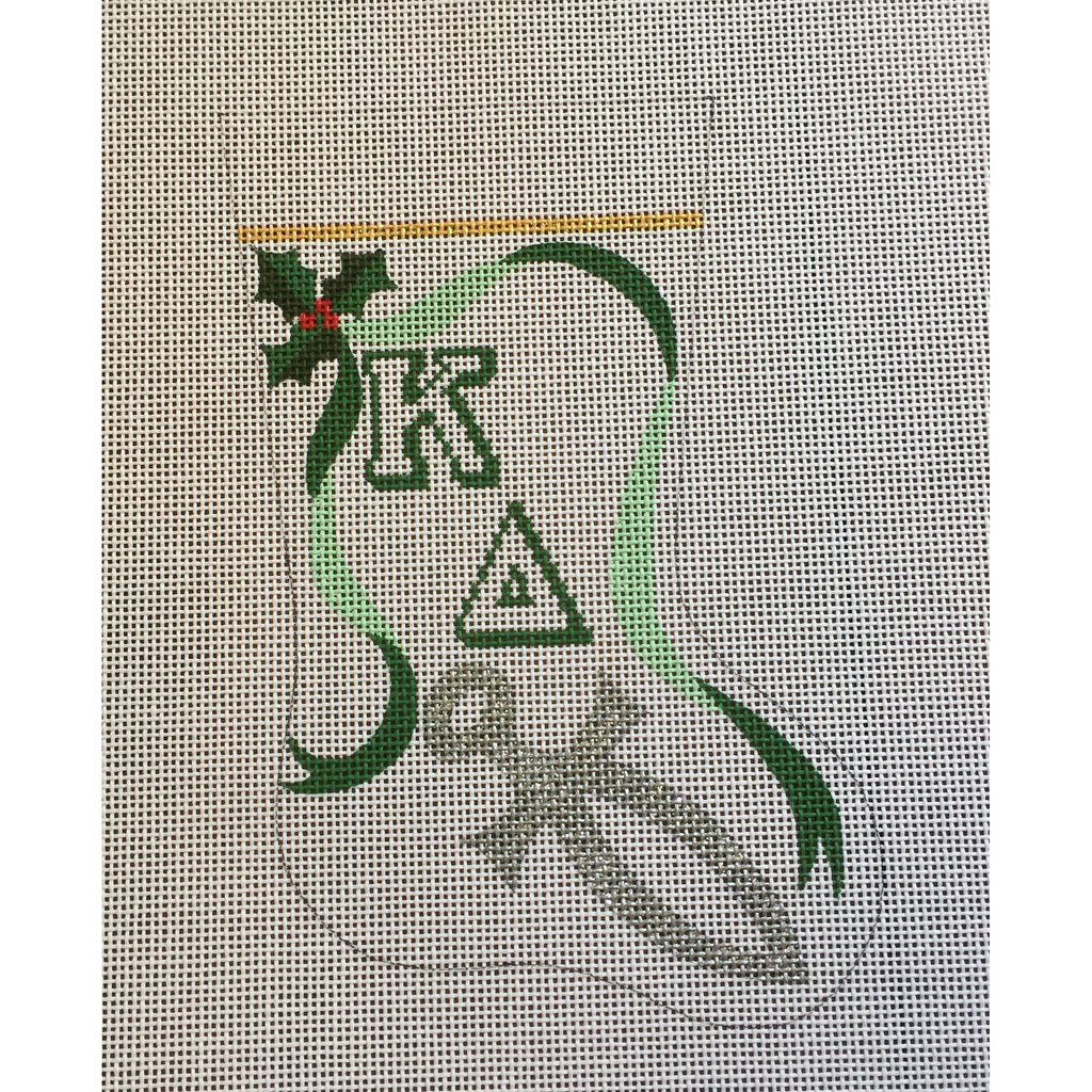 Kappa Delta Mini Sock Canvas