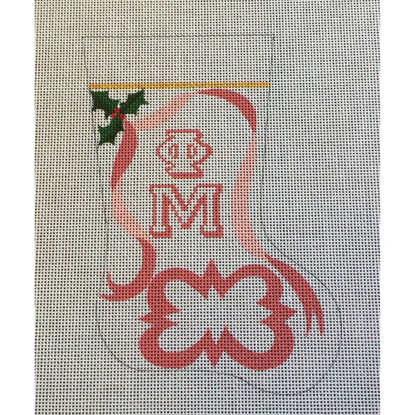 Phi Mu Mini Sock Canvas