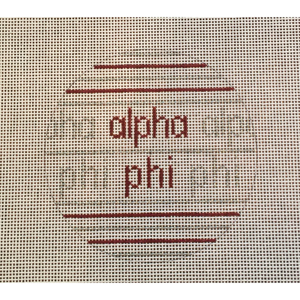 Alpha Phi Ball Canvas