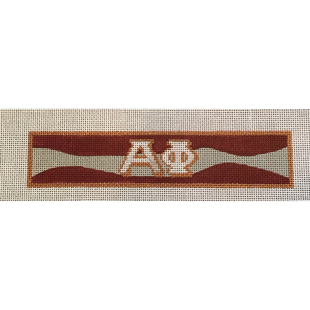 Alpha Phi Bracelet Canvas-Needlepoint Canvas-Painted Pony-KC Needlepoint