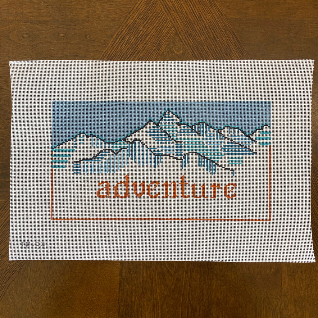 Adventure Needlepoint Canvas-Needlepoint Canvas-KC Needlepoint