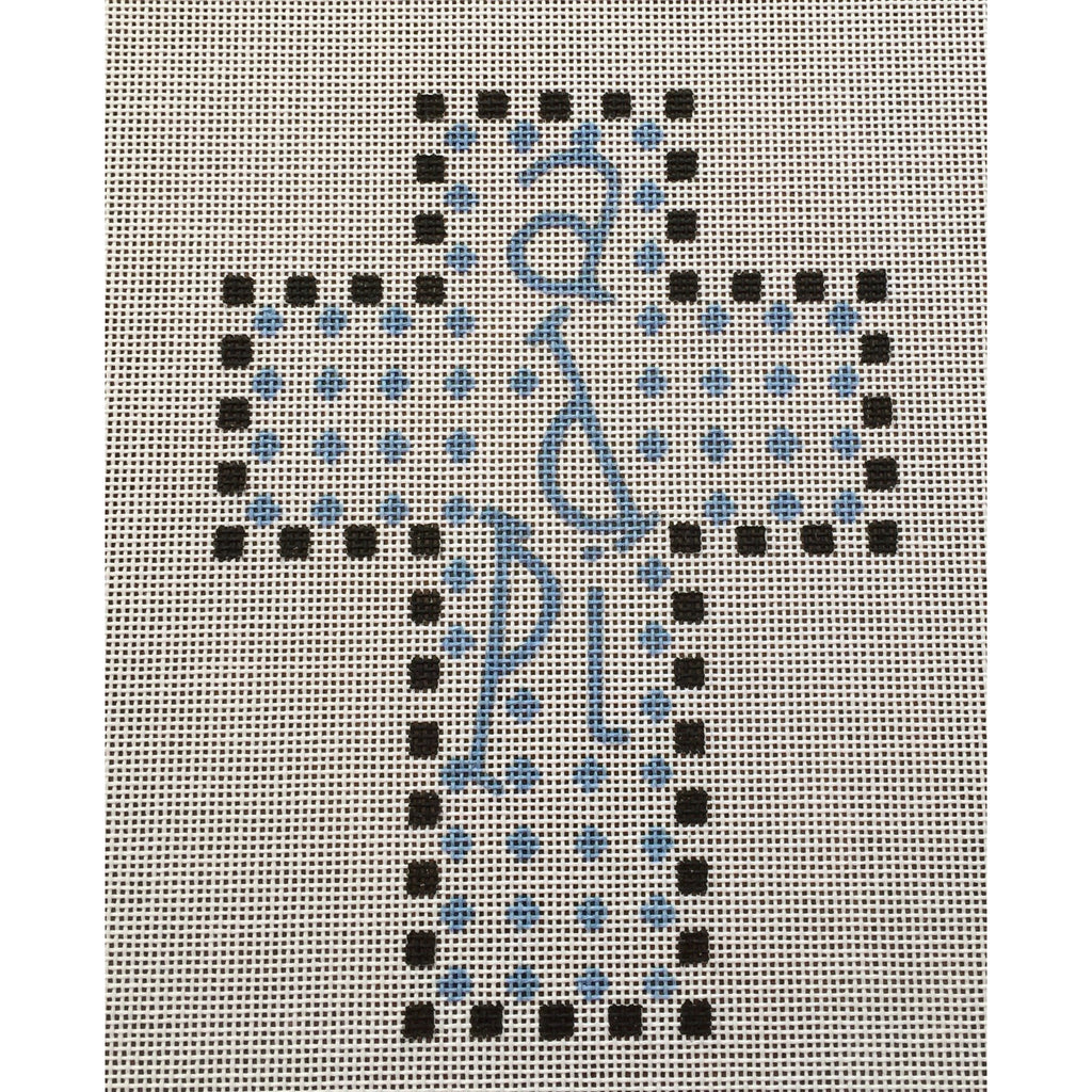 Alpha Delta Pi Cross Canvas