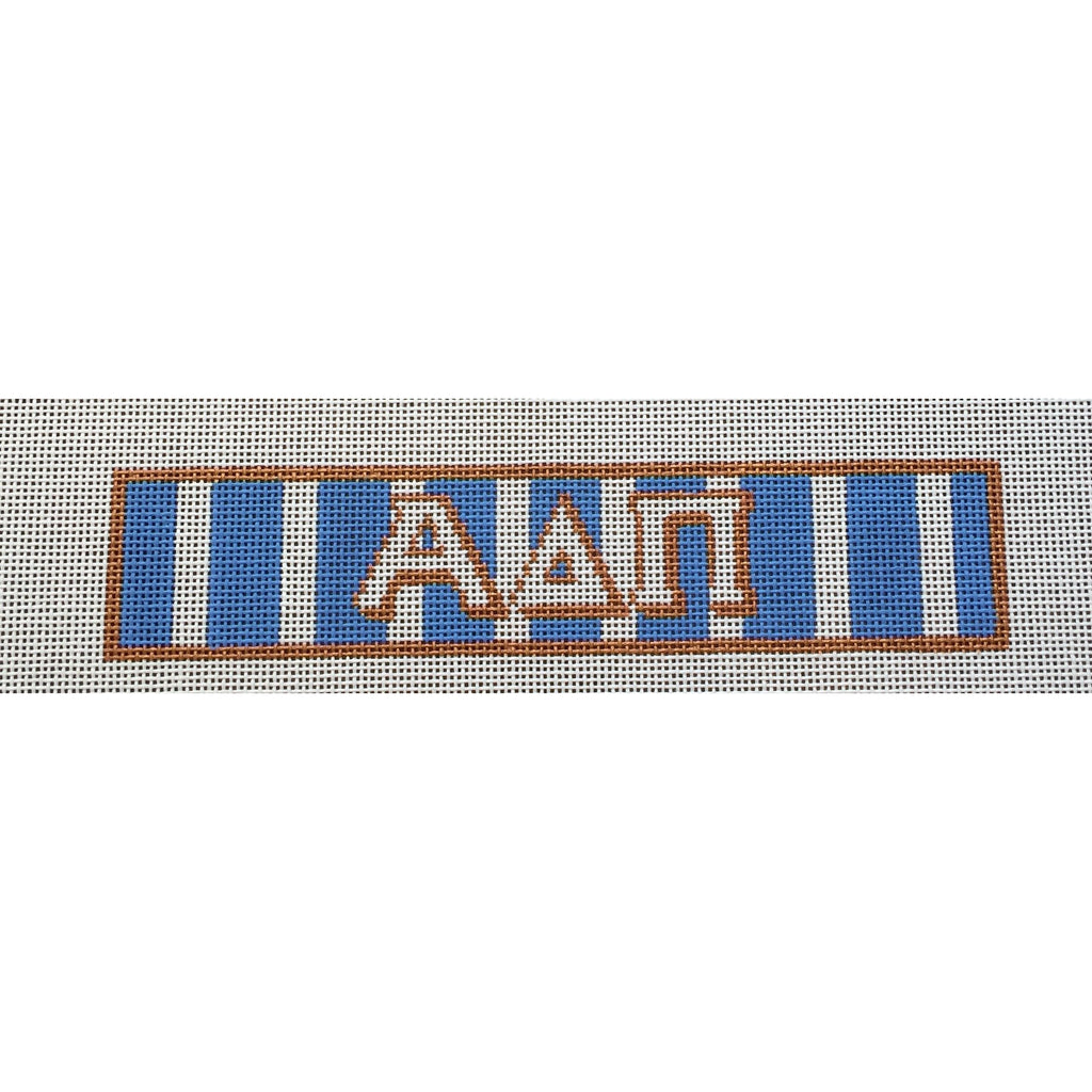 Alpha Delta Pi Bracelet Canvas-Needlepoint Canvas-Painted Pony-KC Needlepoint