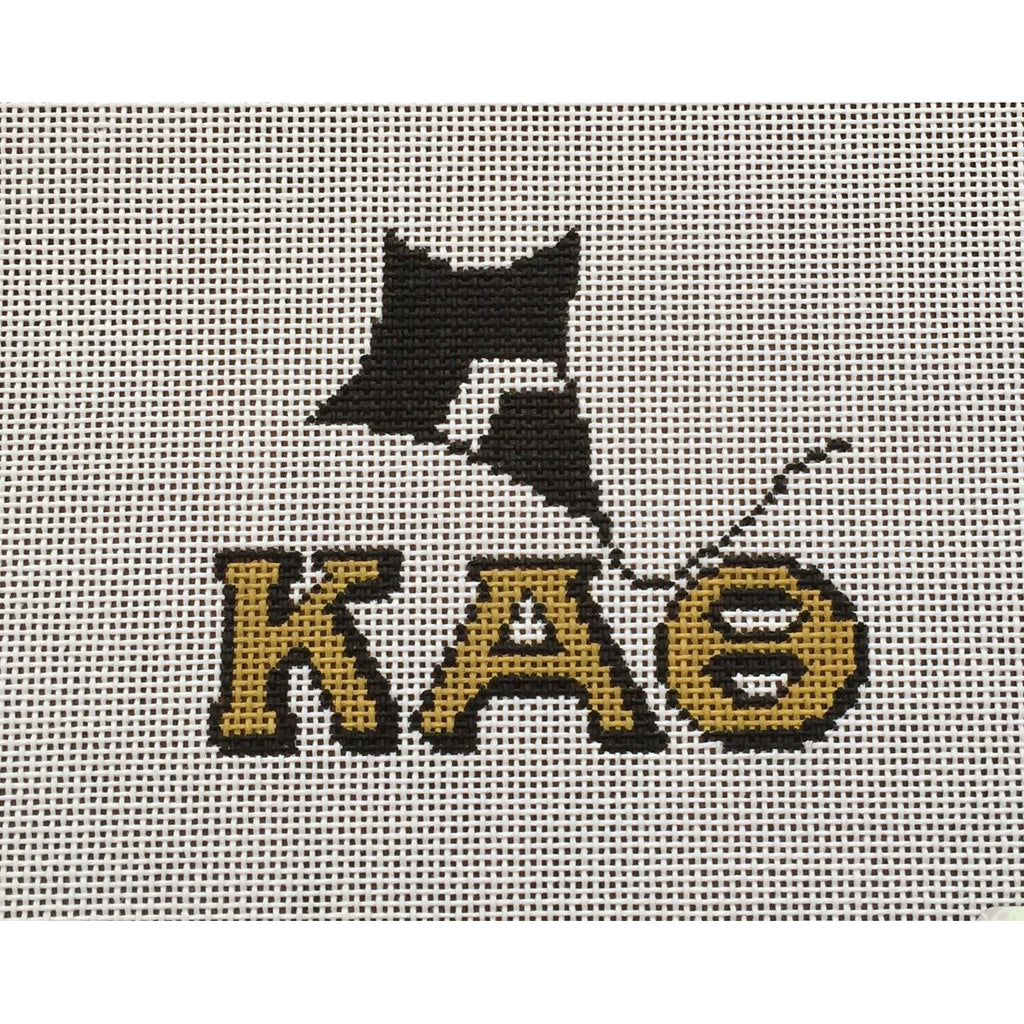 Kappa Alpha Theta/Kite Canvas - needlepoint