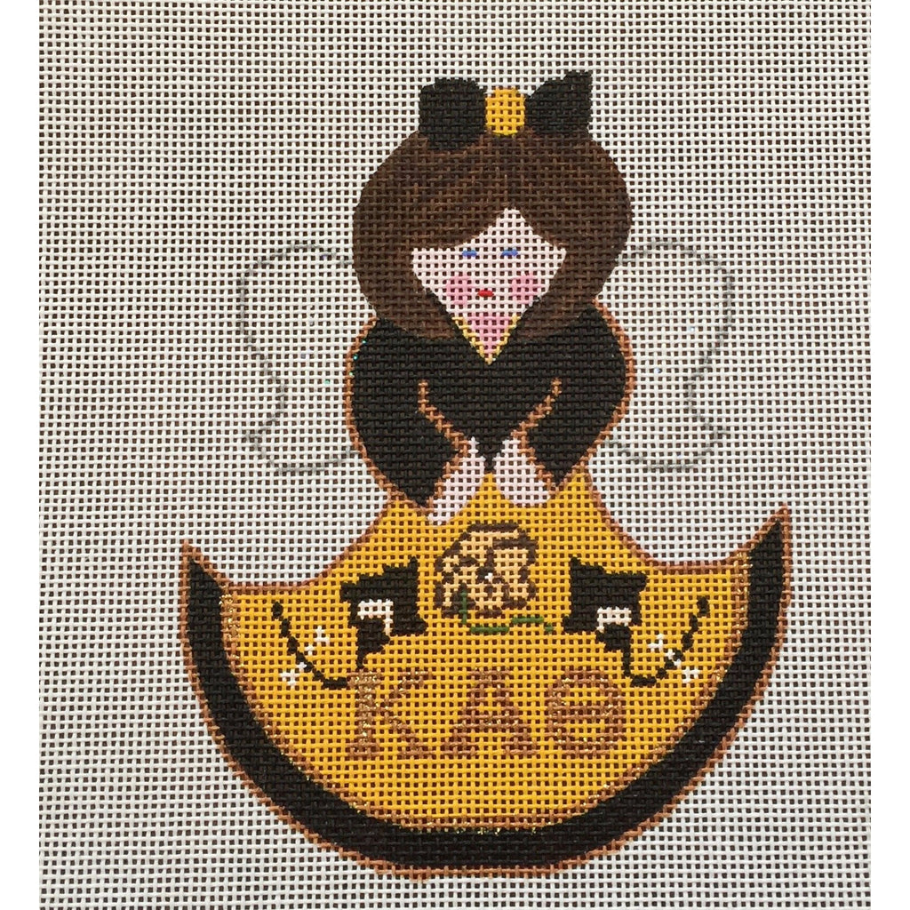 Kappa Alpha Theta Angel Canvas-Needlepoint Canvas-Painted Pony-KC Needlepoint