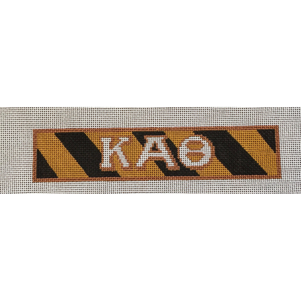 Kappa Alpha Theta Bracelet Canvas-Needlepoint Canvas-Painted Pony-KC Needlepoint