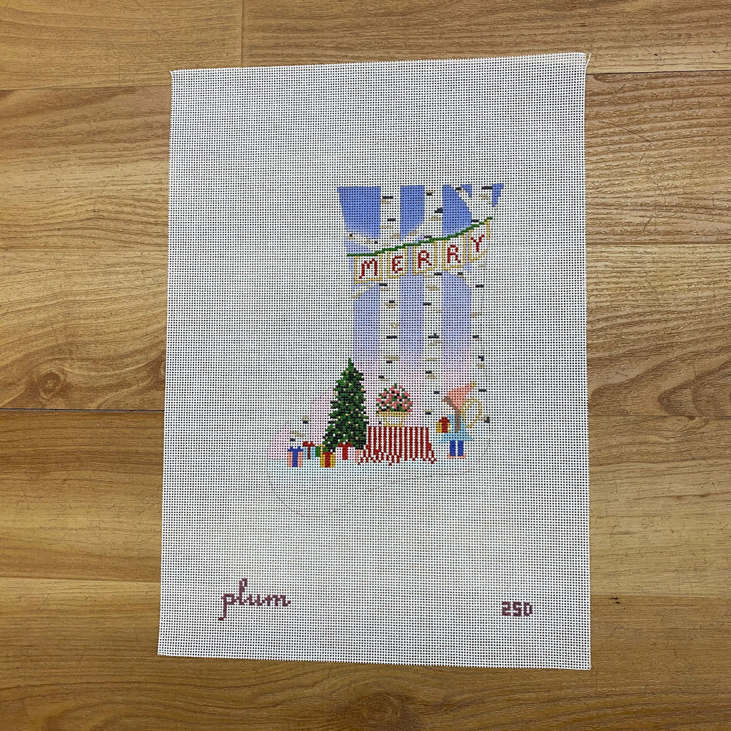 Fairy Little Christmas Mini Sock Canvas