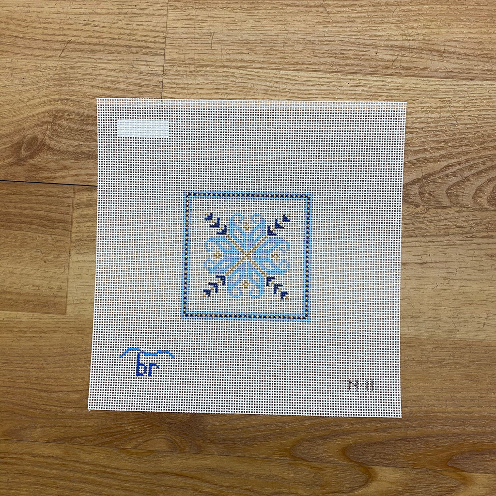 Nordic Square Canvas - needlepoint
