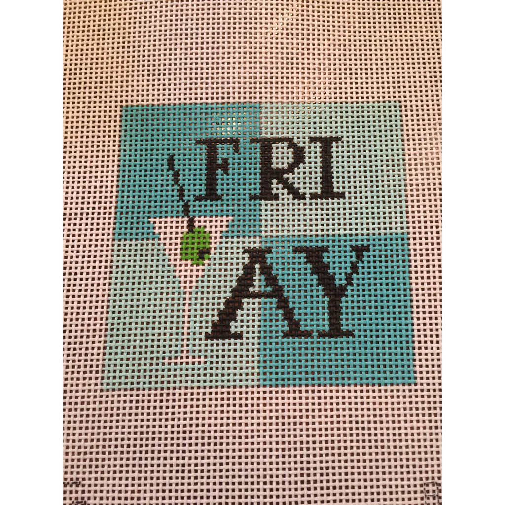 FriYay Needlepoint Canvas - KC Needlepoint