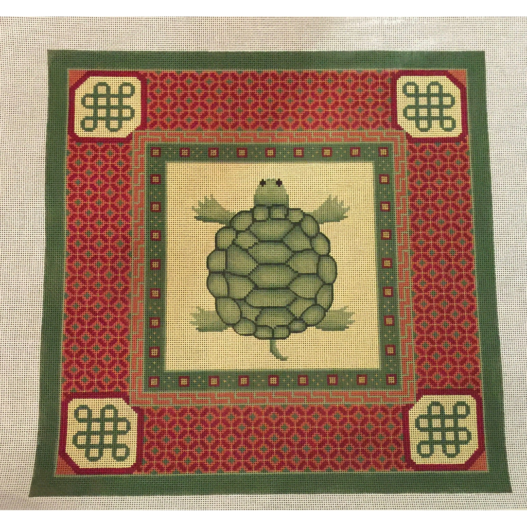 Turtle Needlepoint Canvas-Needlepoint Canvas-JP Needlepoint-KC Needlepoint
