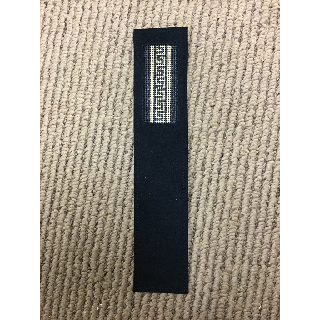Greek Key Bookmark - needlepoint
