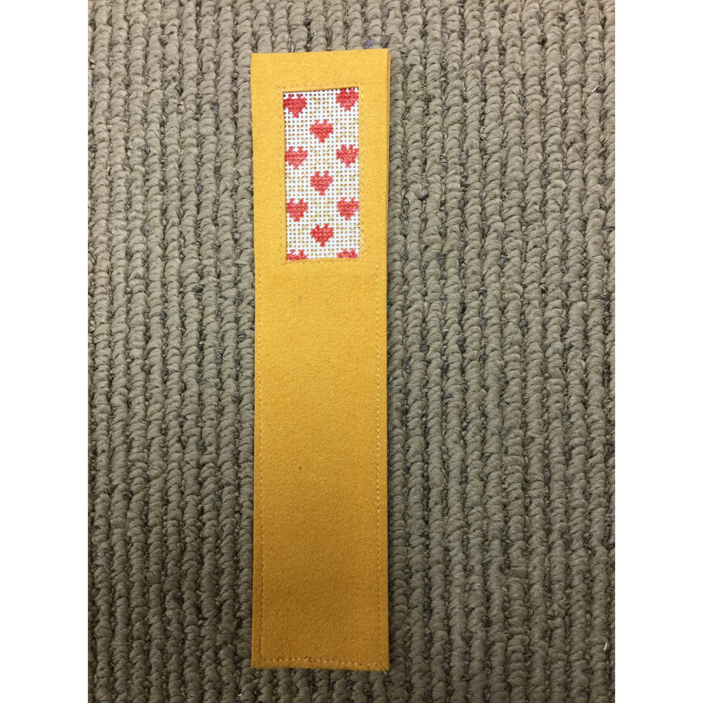 Hearts Bookmark-Accessories-Anne Brinkley Designs-KC Needlepoint