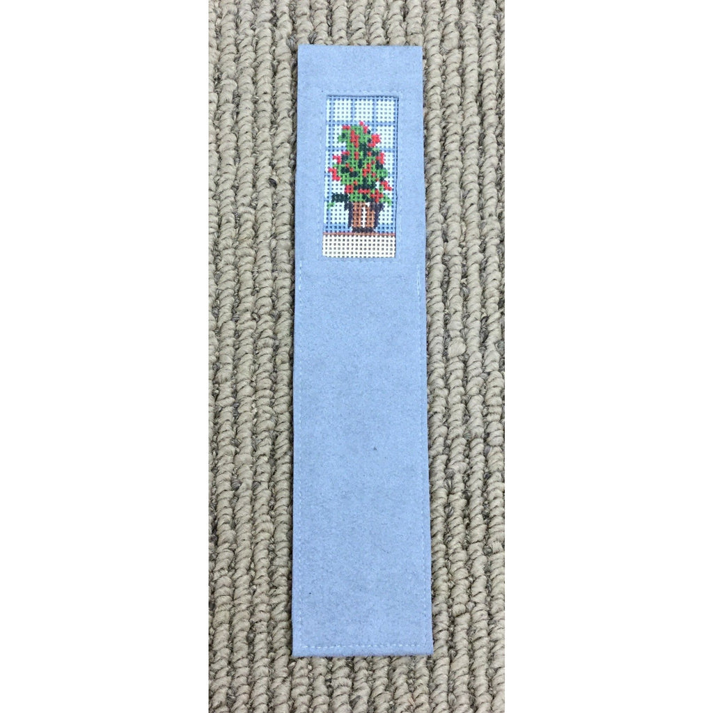 Potted Flower Bookmark-Accessories-Anne Brinkley Designs-KC Needlepoint