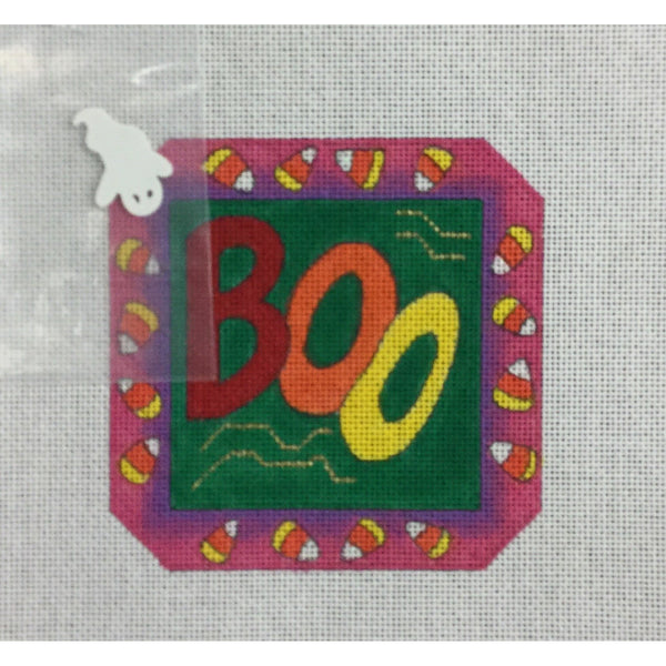 Boo Canvas - needlepoint