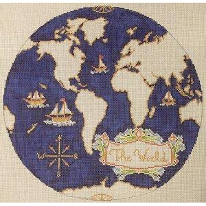 Atlas Needlepoint Canvas-The Plum Stitchery-KC Needlepoint