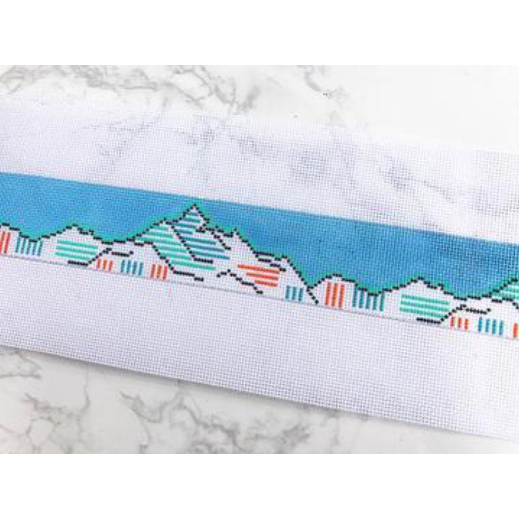 Adventure Belt Canvas - needlepoint