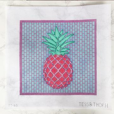 Big Fineapple Canvas-Needlepoint Canvas-Thorn Alexander-KC Needlepoint