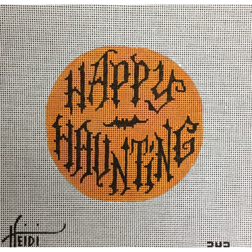 Happy Haunting Canvas-Needlepoint Canvas-Heidi Stanley Designs-KC Needlepoint