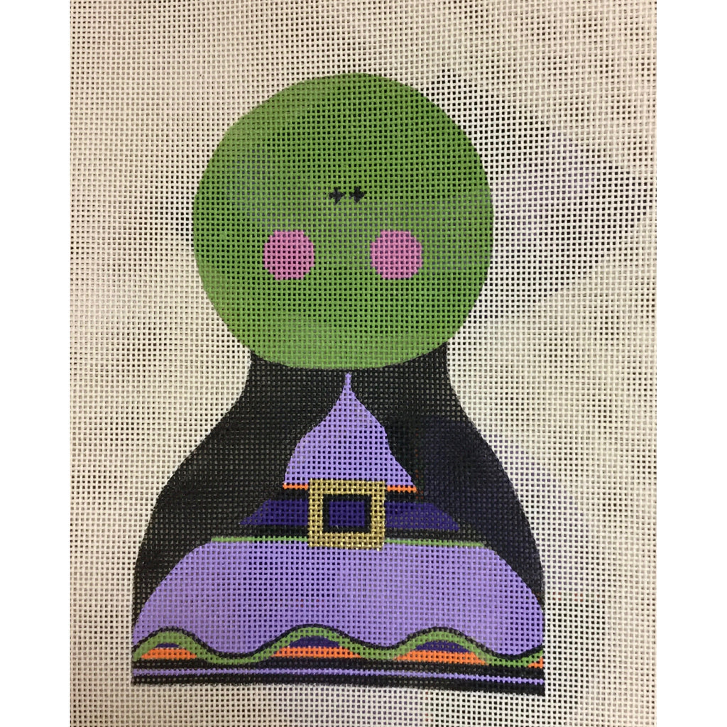 Witch Canvas - needlepoint