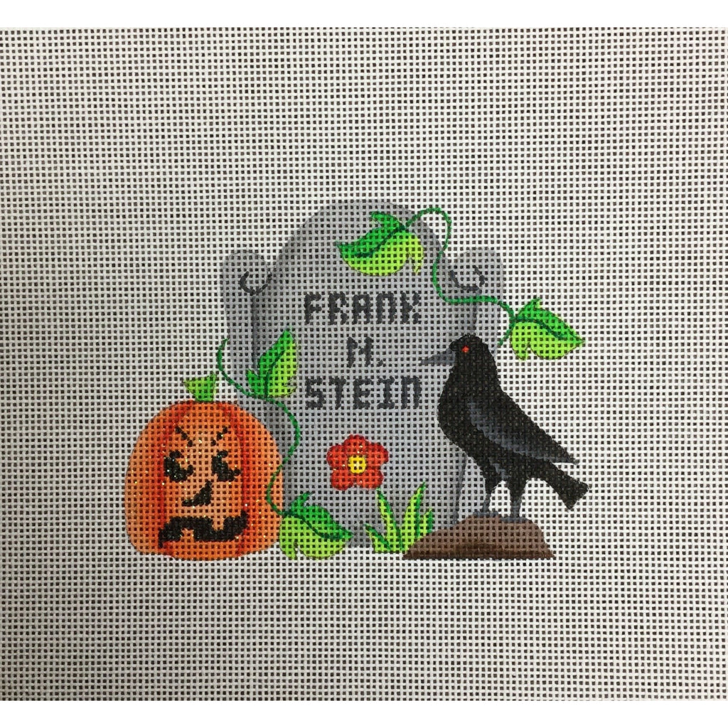 Frank N Stein Canvas - needlepoint
