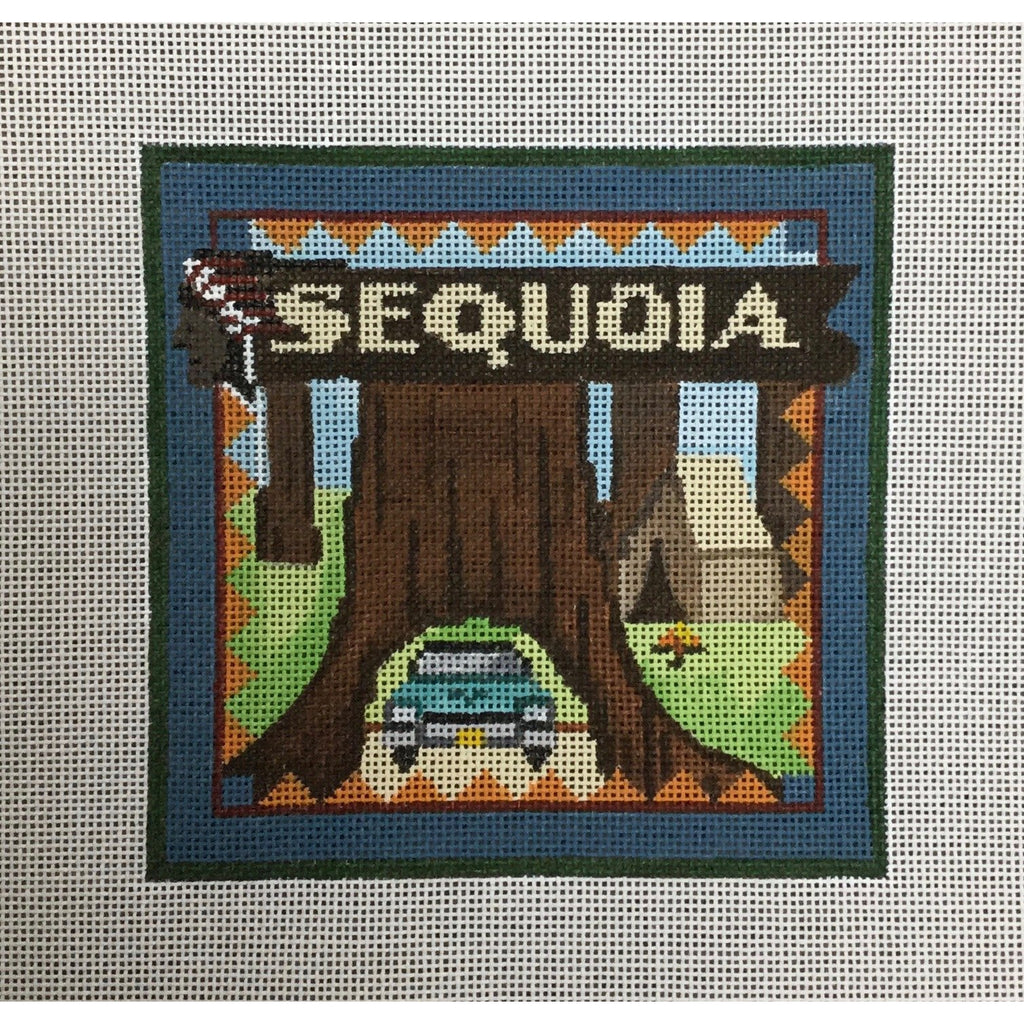 Sequoia Travel Canvas-Needlepoint Canvas-Ewe & Eye-KC Needlepoint