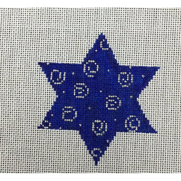 Festival of Lights Ornament  Canvas - needlepoint
