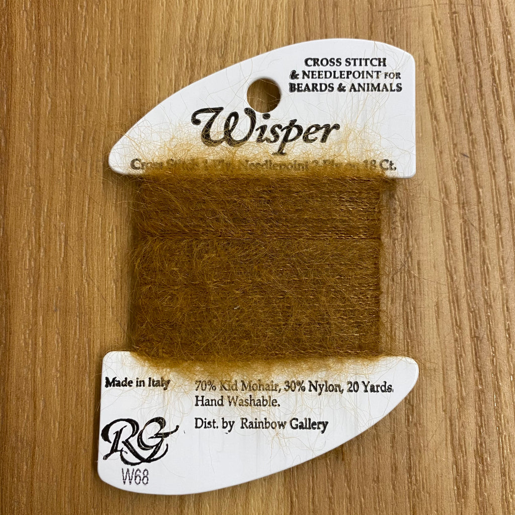 Wisper W68 Dark Tan - KC Needlepoint