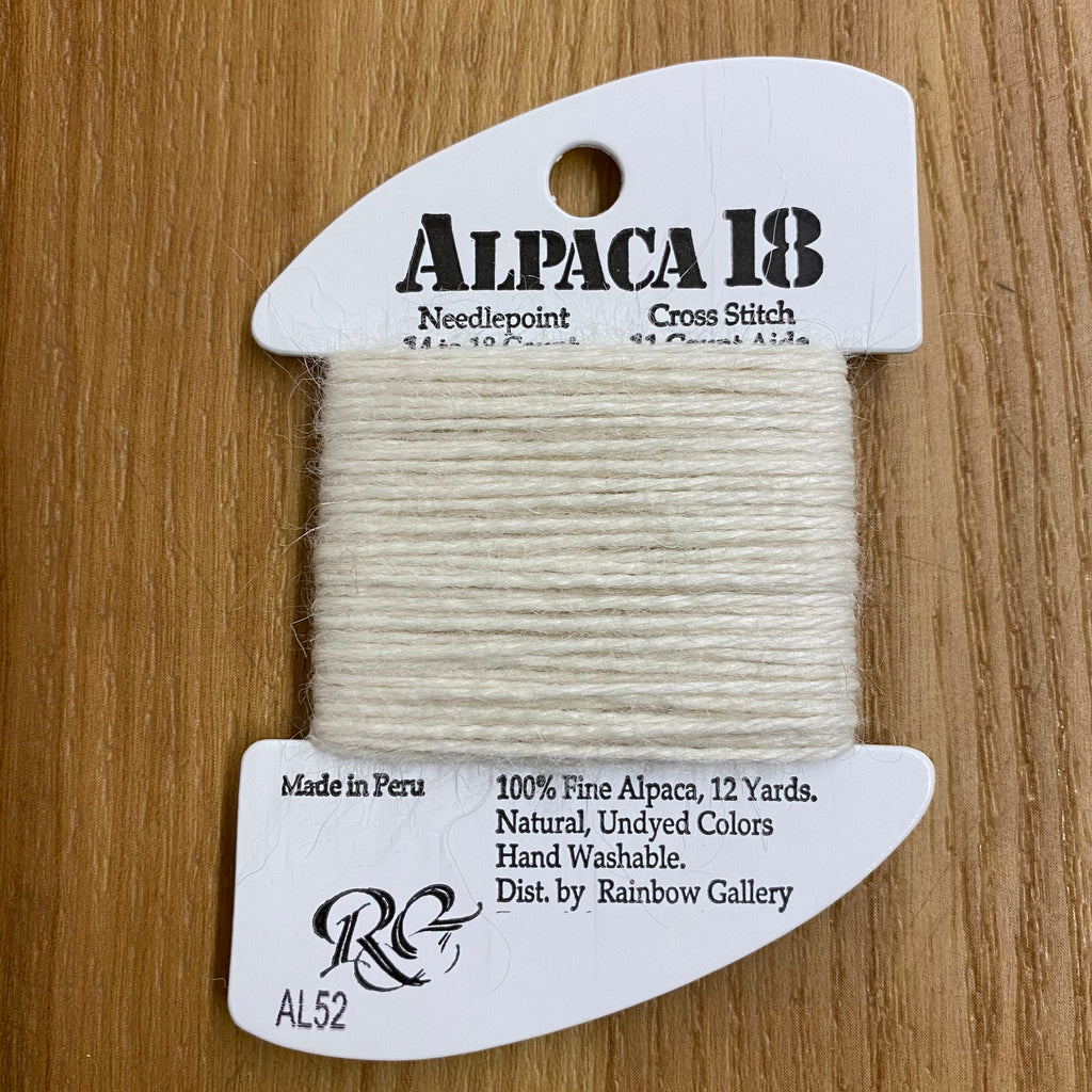Alpaca 18 AL52 Off White - needlepoint