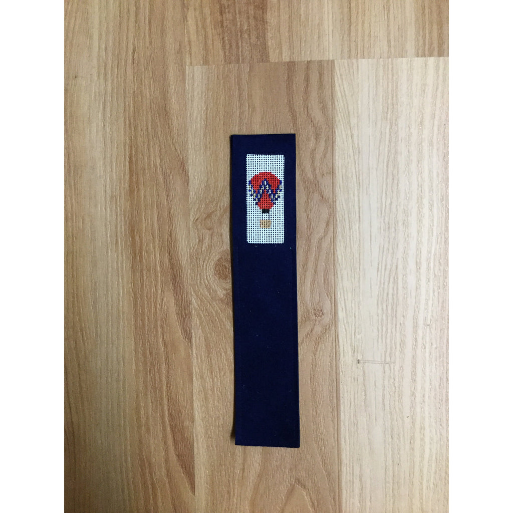 Red Hot Air Balloon Bookmark-Accessories-Anne Brinkley Designs-KC Needlepoint