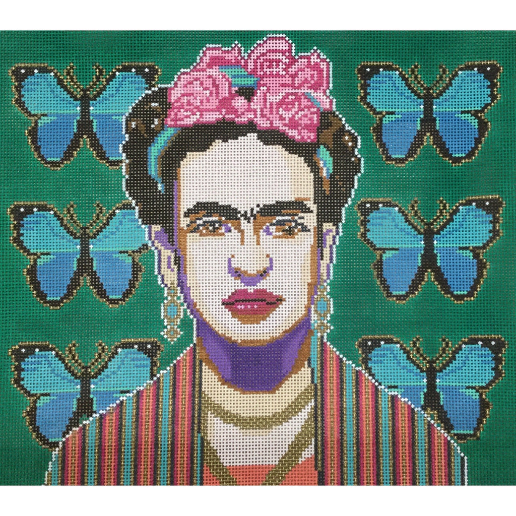 Frida Needlepoint Canvas