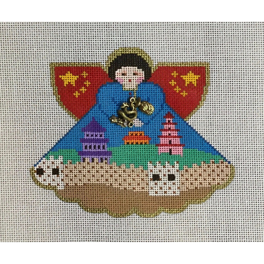 China Angel Canvas