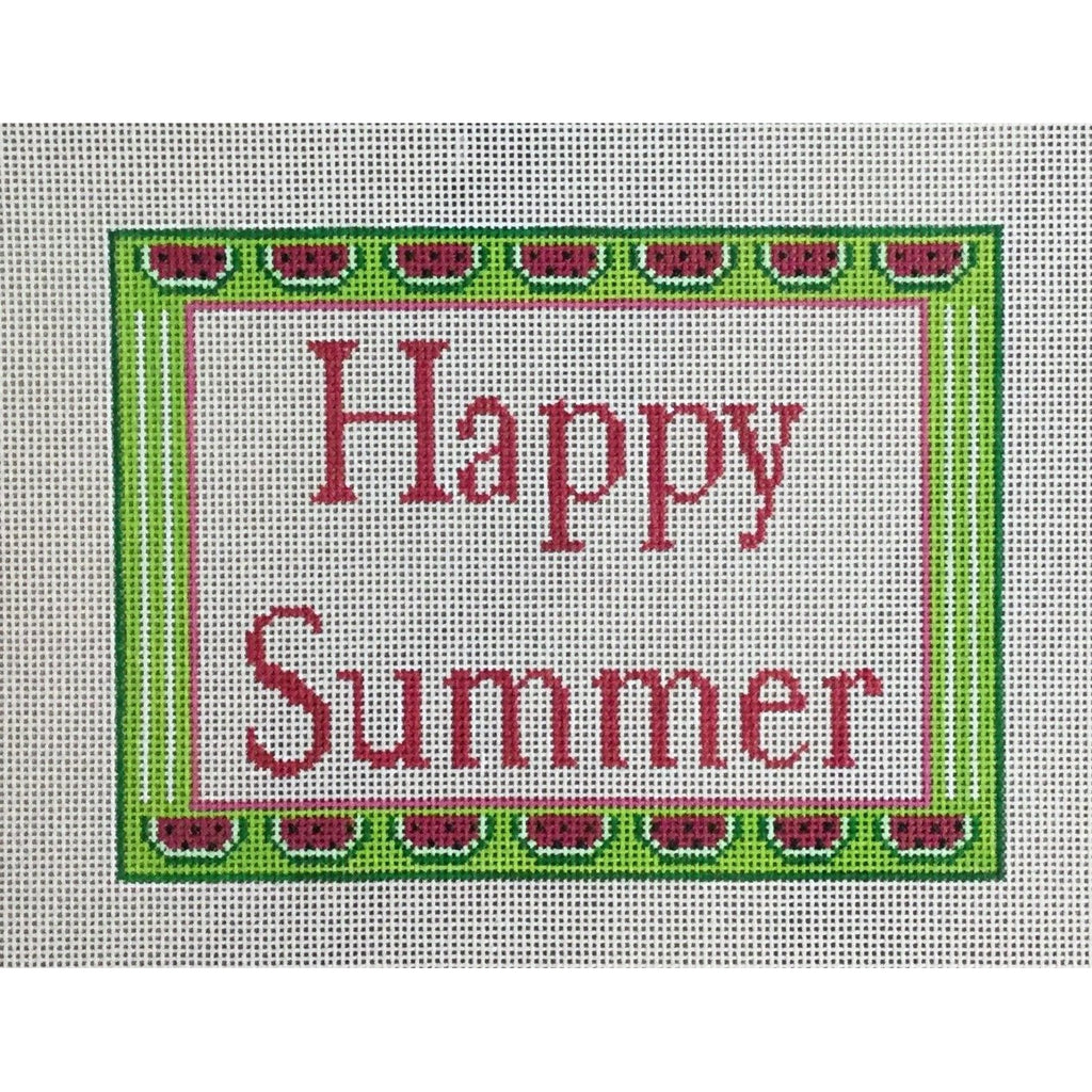 Happy Summer Canvas