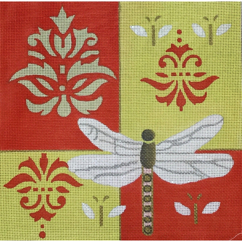 Dragonfly Canvas-Needlepoint Canvas-CBK Needlepoint-KC Needlepoint