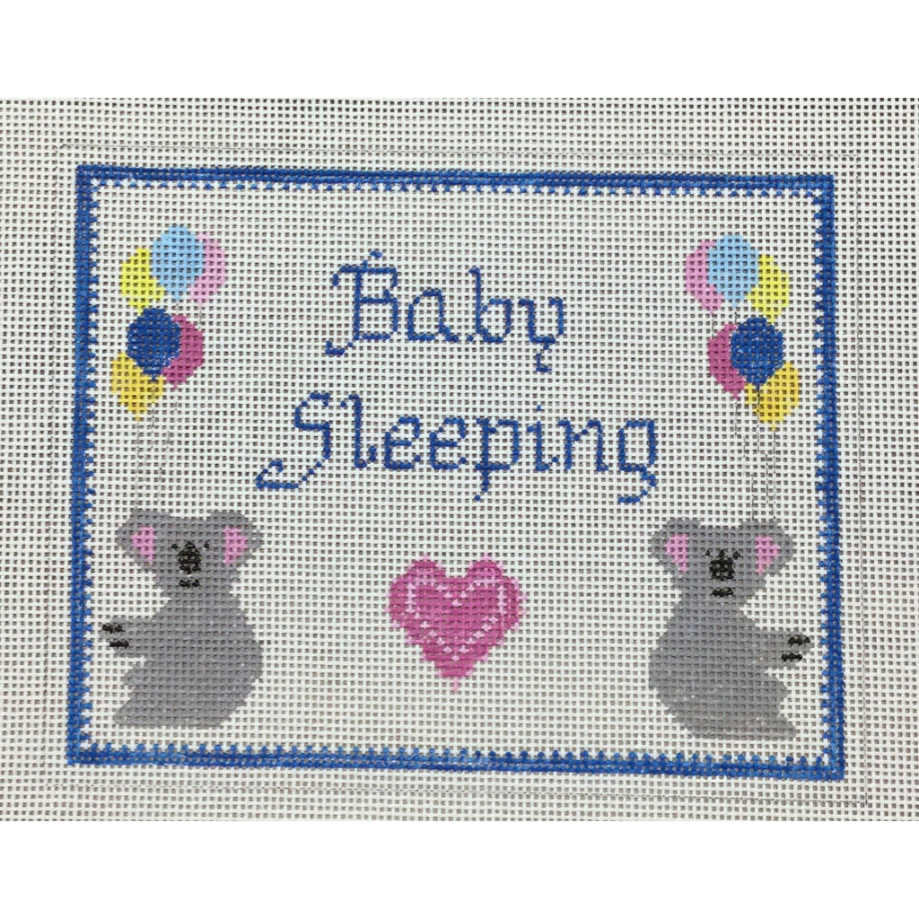 Baby Sleeping Koalas Canvas-Winnetka Stitchery-KC Needlepoint