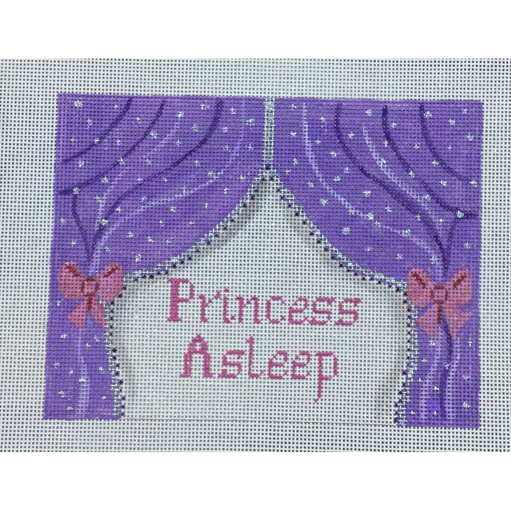 Princess Asleep Canvas