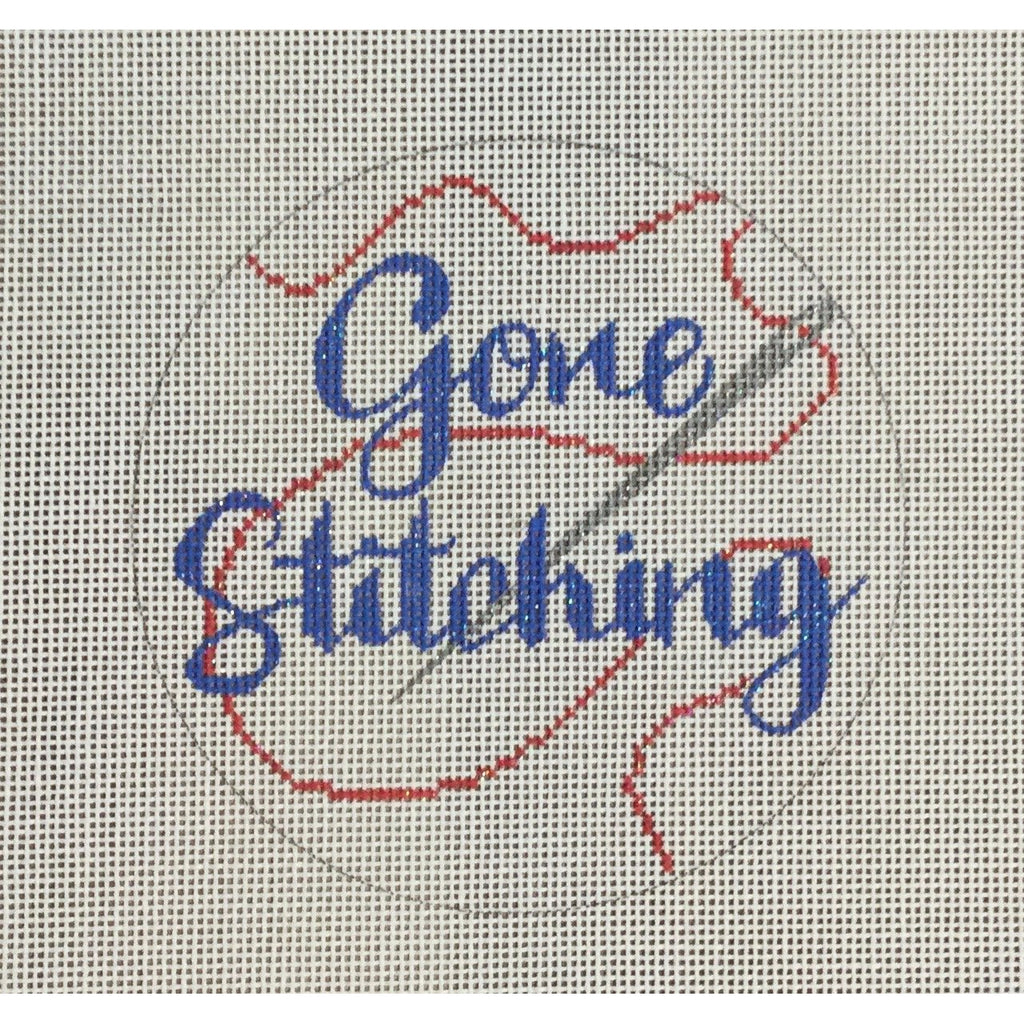 Gone Stitching Canvas