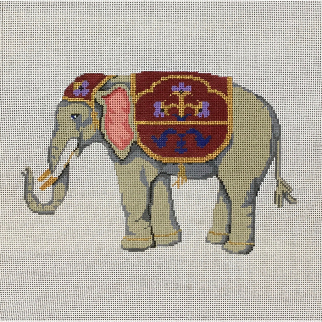 Elephant Needlepoint Canvas-Needlepoint Canvas-The Collection-KC Needlepoint