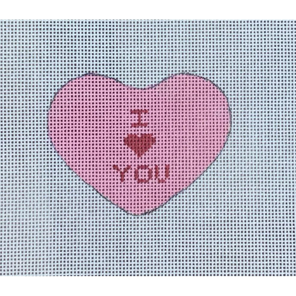 I Love You Canvas-Needlepoint Canvas-Ewe & Eye-KC Needlepoint