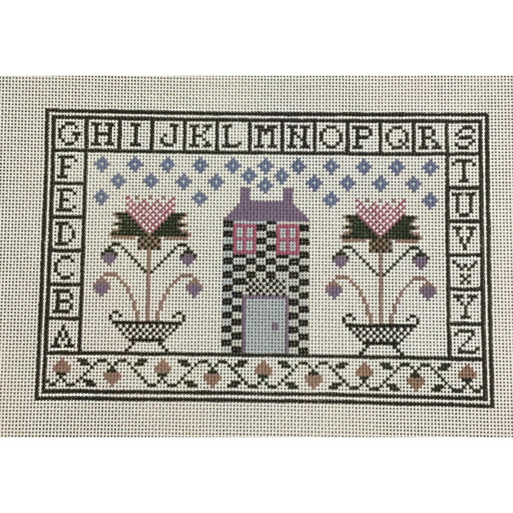 House Sampler Canvas-Needlepoint Canvas-Ewe & Eye-KC Needlepoint