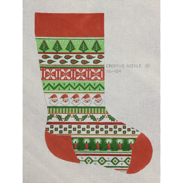Santa Stocking Canvas