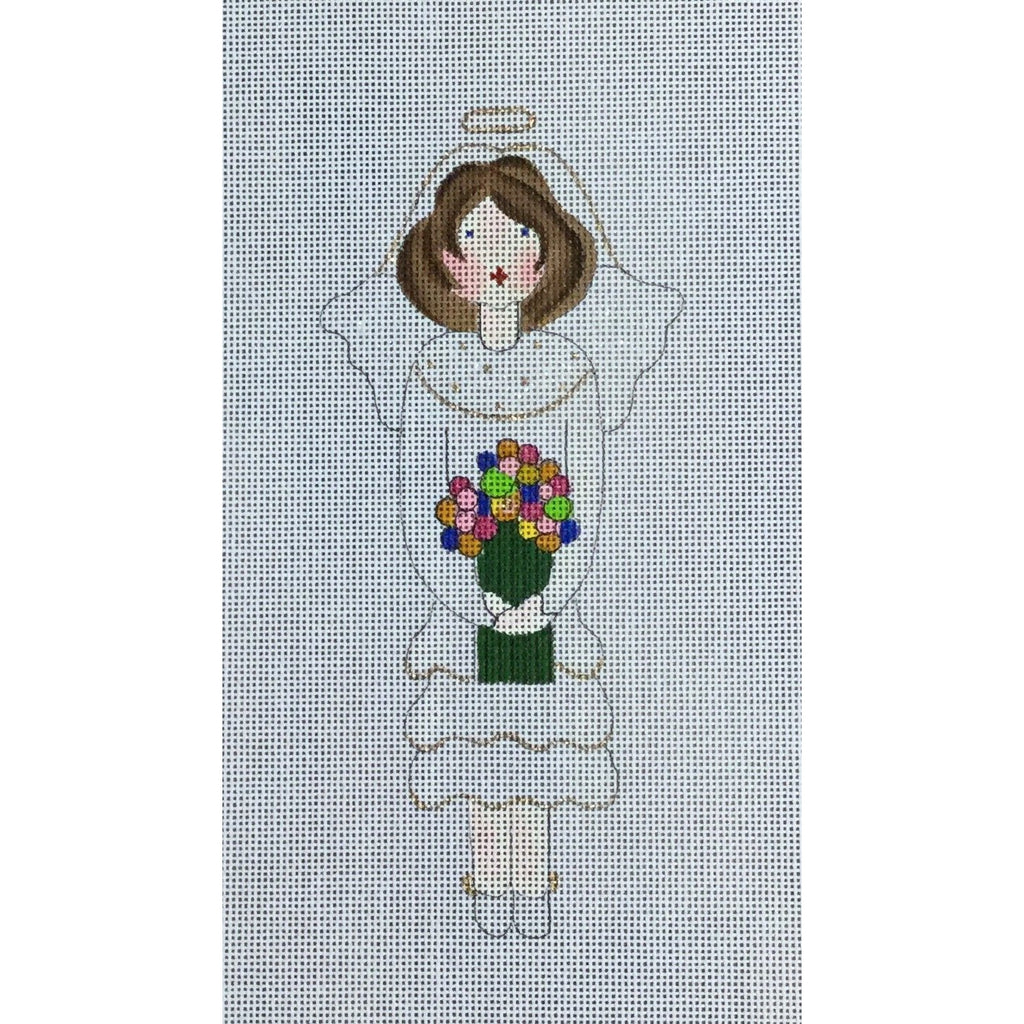 Bride Angel Canvas-Needlepoint Canvas-The Artists Collection-KC Needlepoint