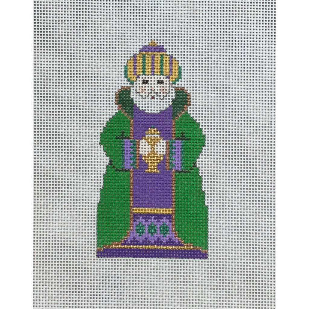 Green King, Nativity Set Canvas