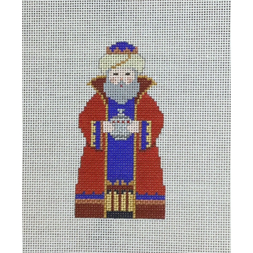 Red King, Nativity Set Canvas-Needlepoint Canvas-Carol Dupree-KC Needlepoint