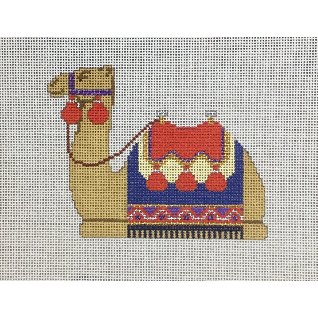 Camel, Nativity Set Canvas-Needlepoint Canvas-Carol Dupree-KC Needlepoint