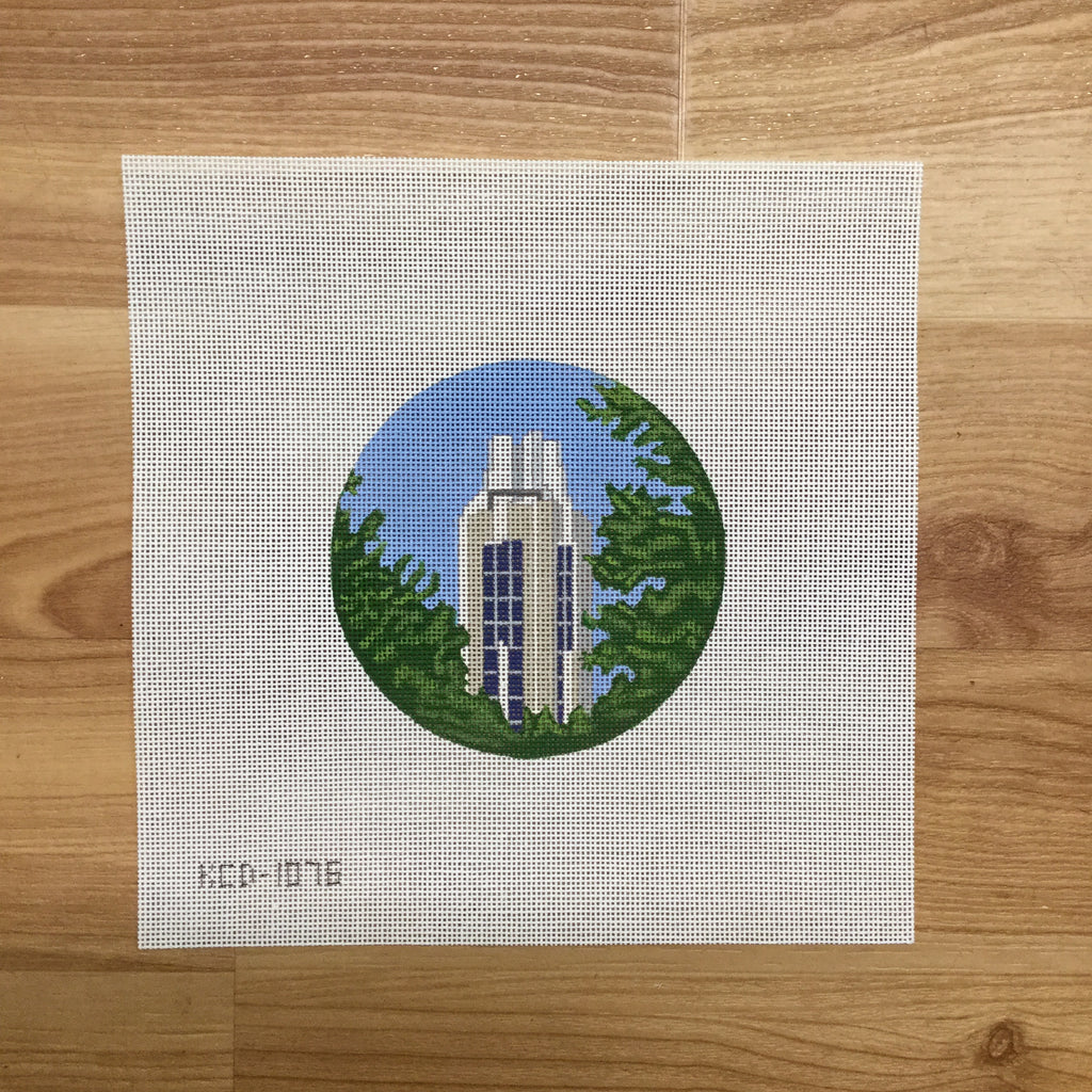 The Campanile Canvas-Needlepoint Canvas-KCN Designers-KC Needlepoint