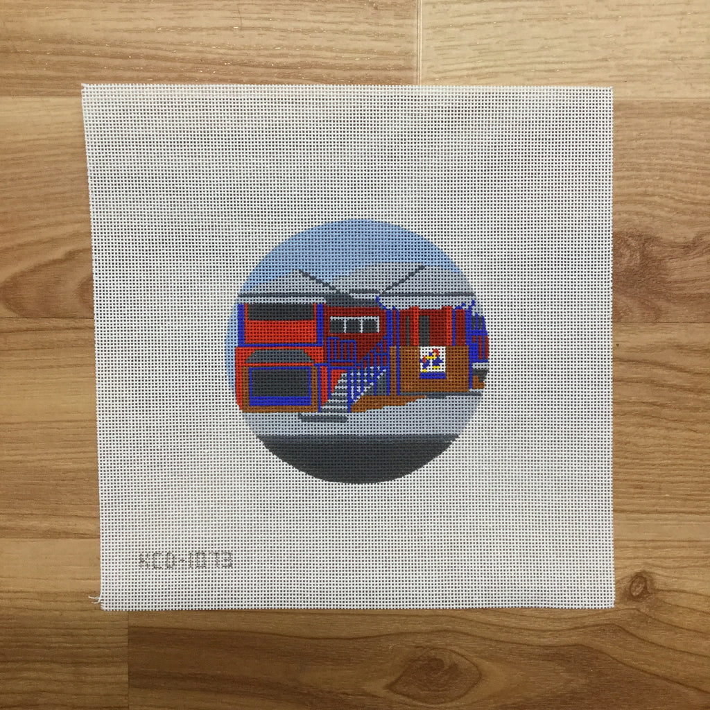 The Wheel Canvas-KCN Designers-KC Needlepoint