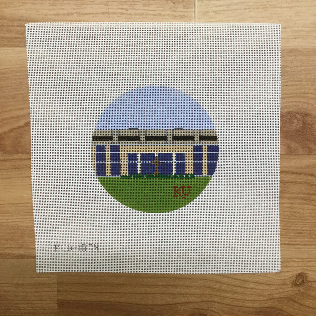Allen Fieldhouse Canvas-Needlepoint Canvas-KCN Designers-KC Needlepoint