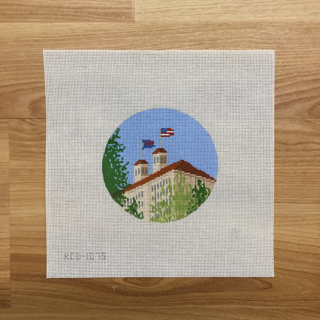 Fraser Hall Canvas-Needlepoint Canvas-KCN Designers-KC Needlepoint