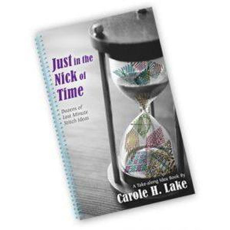Just in the Nick of Time Book - needlepoint