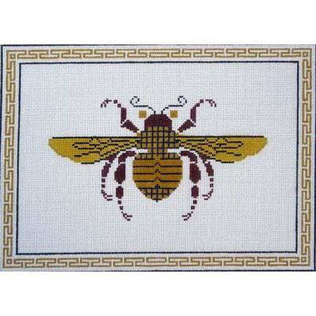 Bee Needlepoint Canvas-Needlepoint Canvas-Danji Designs-13 Mesh-KC Needlepoint